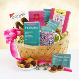 Tea and Deserts Gift Basket For Mom (#GC63)