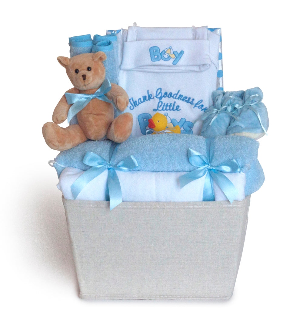 Thank Goodness It's A Boy Gift Basket