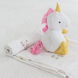 Add Blanket Swaddle  Unicorn