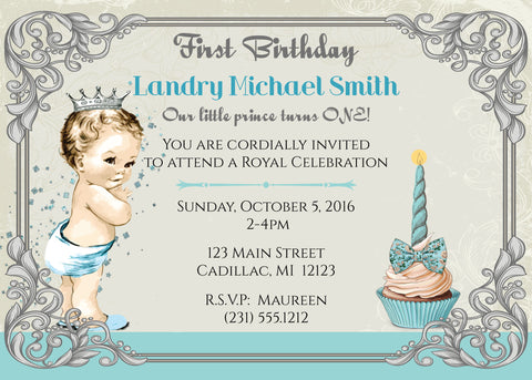 Circus Birthday Party Invitation (#KBI116)