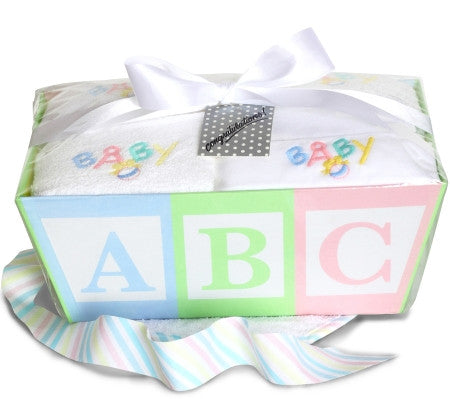 New Baby Layette Gift Box (#BGC319) - Stork Baby Gift Baskets
