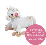 Angel the Unicorn Rocker (#RB6) - Stork Baby Gift Baskets - 2