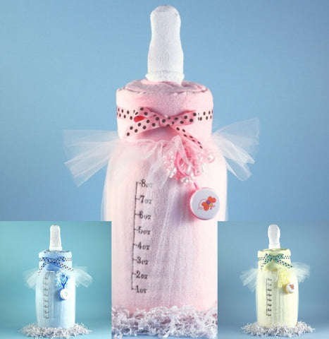 Beautiful Baby Diaper Cake (#BGC-BBDC)