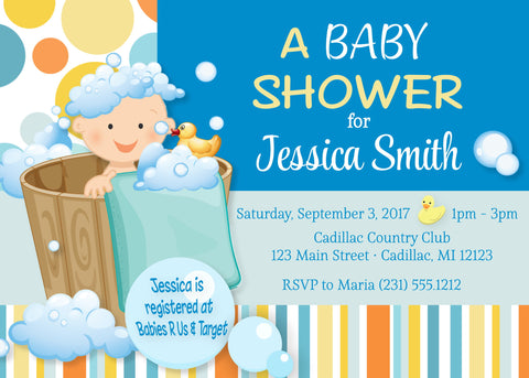 Baby Animals Shower Invite (#DIY39)