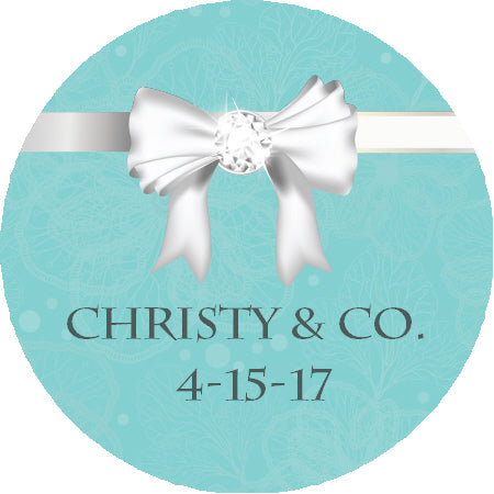 Baby & Co. - Personalized Baby Shower Sticker Labels