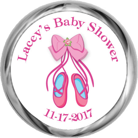 LIttle Dress - Girl Baby Shower Stickers (#HKS404)