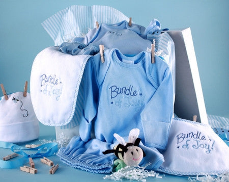 Baby gifts under 100 stork baby gift baskets baby boy clothesline shower collection bgc163 negle Gallery