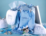 Baby Boy Clothesline Shower Collection (#BGC163) - Stork Baby Gift Baskets