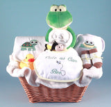 Cute As Can Bee Baby Layette (#BGC188) - Stork Baby Gift Baskets