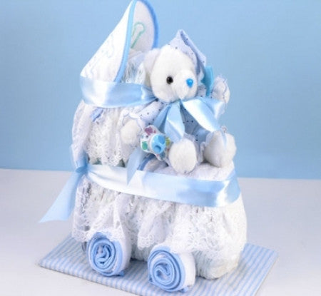 Baby Diaper Carriage (Blue)
