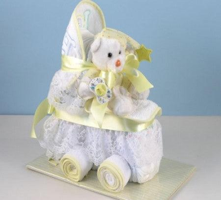 Caterpillar Baby Gift Wagon