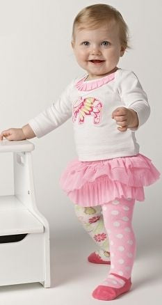 Elegant Tutu Elephant Skirt Set by Mud Pie (#SBGB2) - StorkBabyGiftBaskets - 3