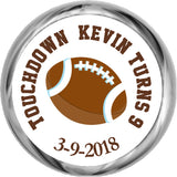 Football - Boys Custom Kiss Stickers