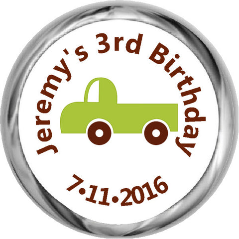 Lightning McQueen -  HERSHEY'S Birthday Kid Stickers (#HKS339)