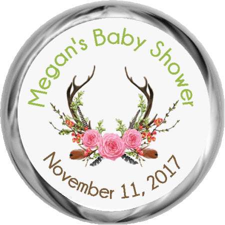 Baby Shower Kiss Stickers And Labels For Hershey Candy Kisses