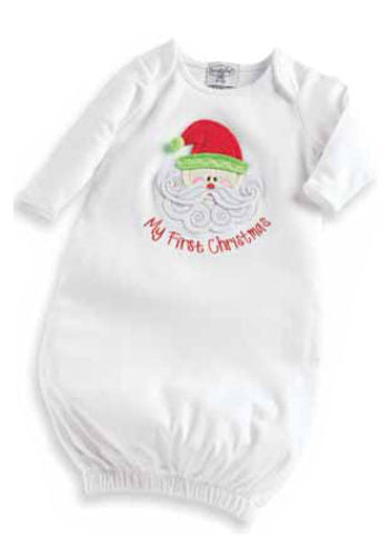 My First Christmas Gown by Mud Pie (#SBGB11) - StorkBabyGiftBaskets