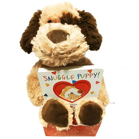 Puppy Love Baby Book Gift Set