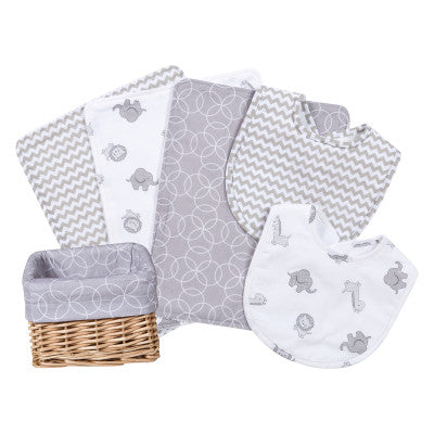 Safari Gray 7 Piece Feeding Gift Set (#TL208)