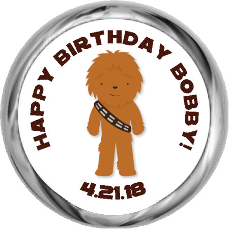 Fishing Bobber- Birthday Hershey Kisses Stickers (#HKS386)