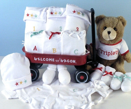 Caterpillar Wagon Layette Set - Boy (#BGC207)