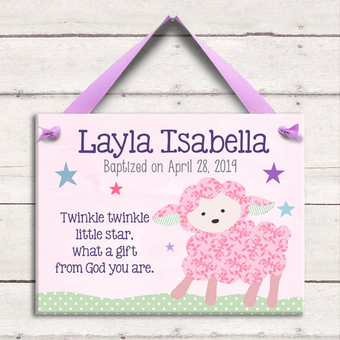Pink Nursery Baby Shower Invitation (#SBGB307)