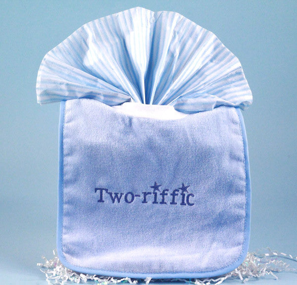 """Twincess & Two-riffic"" For Twin Babies (#BGC127) - Stork Baby Gift Baskets - 3"