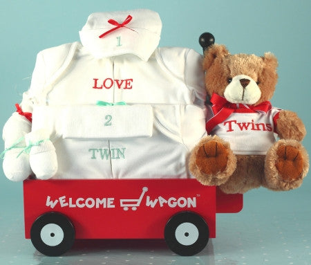 Welcome Wagon Deluxe for Twin Girls (#BGC122)