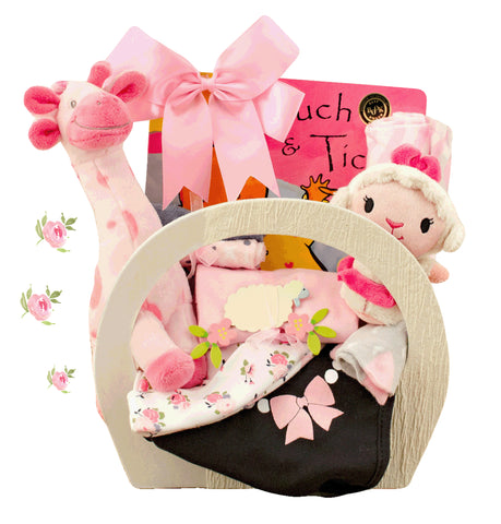 Family Gift Basket - Girl (#CBB336)