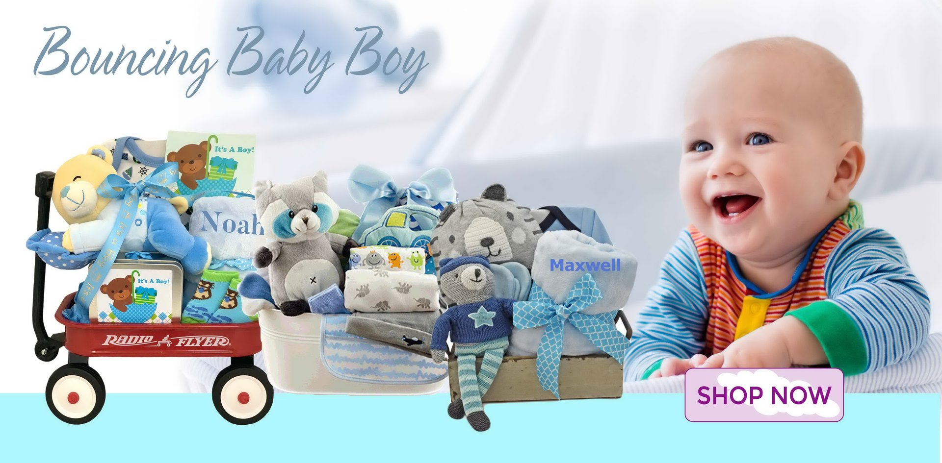 Baby Gift Basket Same Day Delivery : Stork baby gift baskets gifts unique and personalized