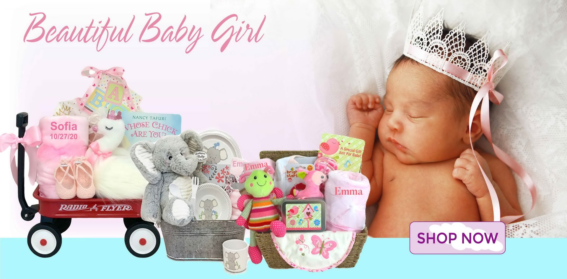 Shop New Baby Gift Baskets