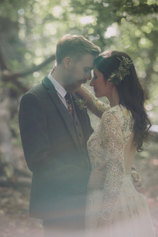 Designer's perfect wedding day