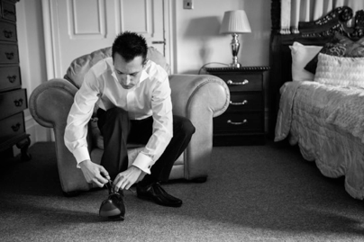 groom wedding day getting ready dickie bow wedding blog
