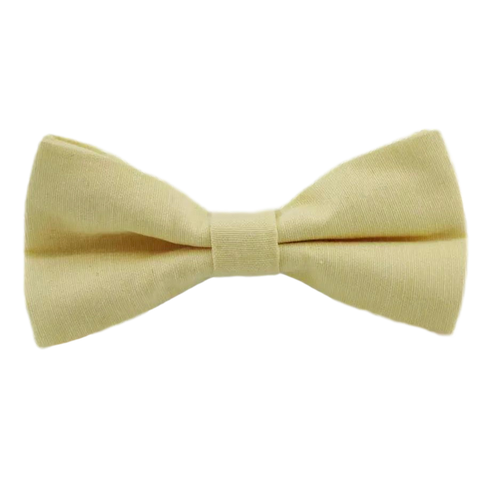 Soleil Cotton Boys Yellow Bow Tie | Dickie Bow
