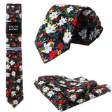 Florence Cotton Tie and Pocket Square | Dickie Bow