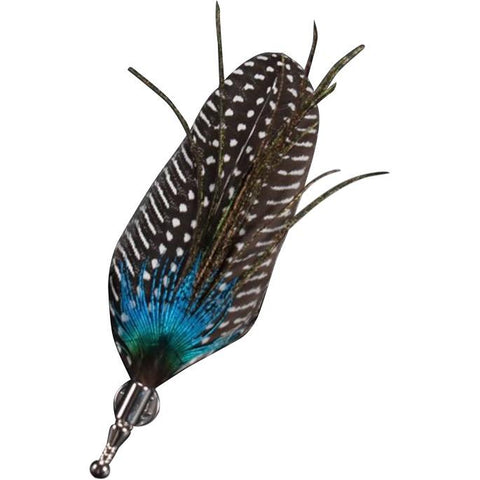 Mens Feather Lapel Pin | Dickie Bow