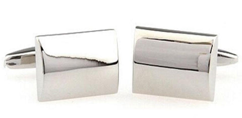 Mens Rectangle Cufflinks
