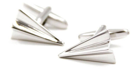 Mens Airplane Cufflinks