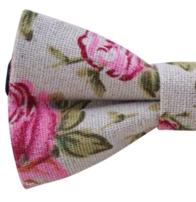 Andrew Floral Boys Bow Tie