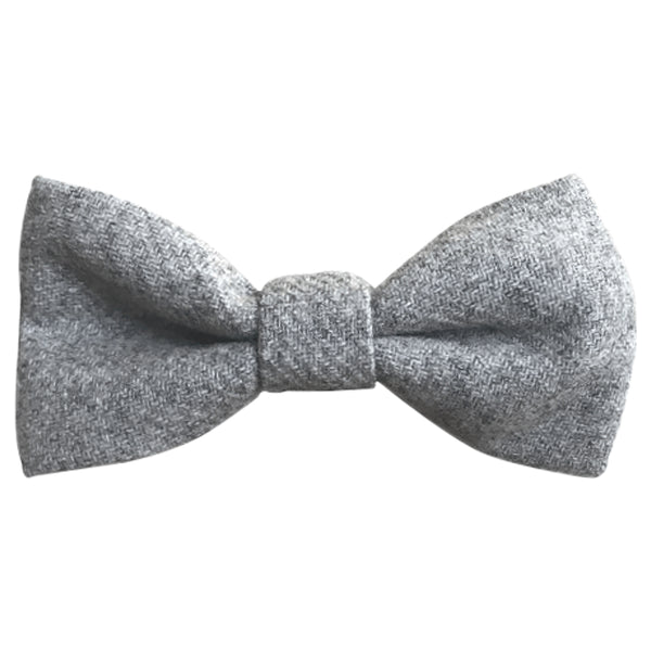 Amelia Boys Grey Bow Tie and Grey Braces | Dickie Bow