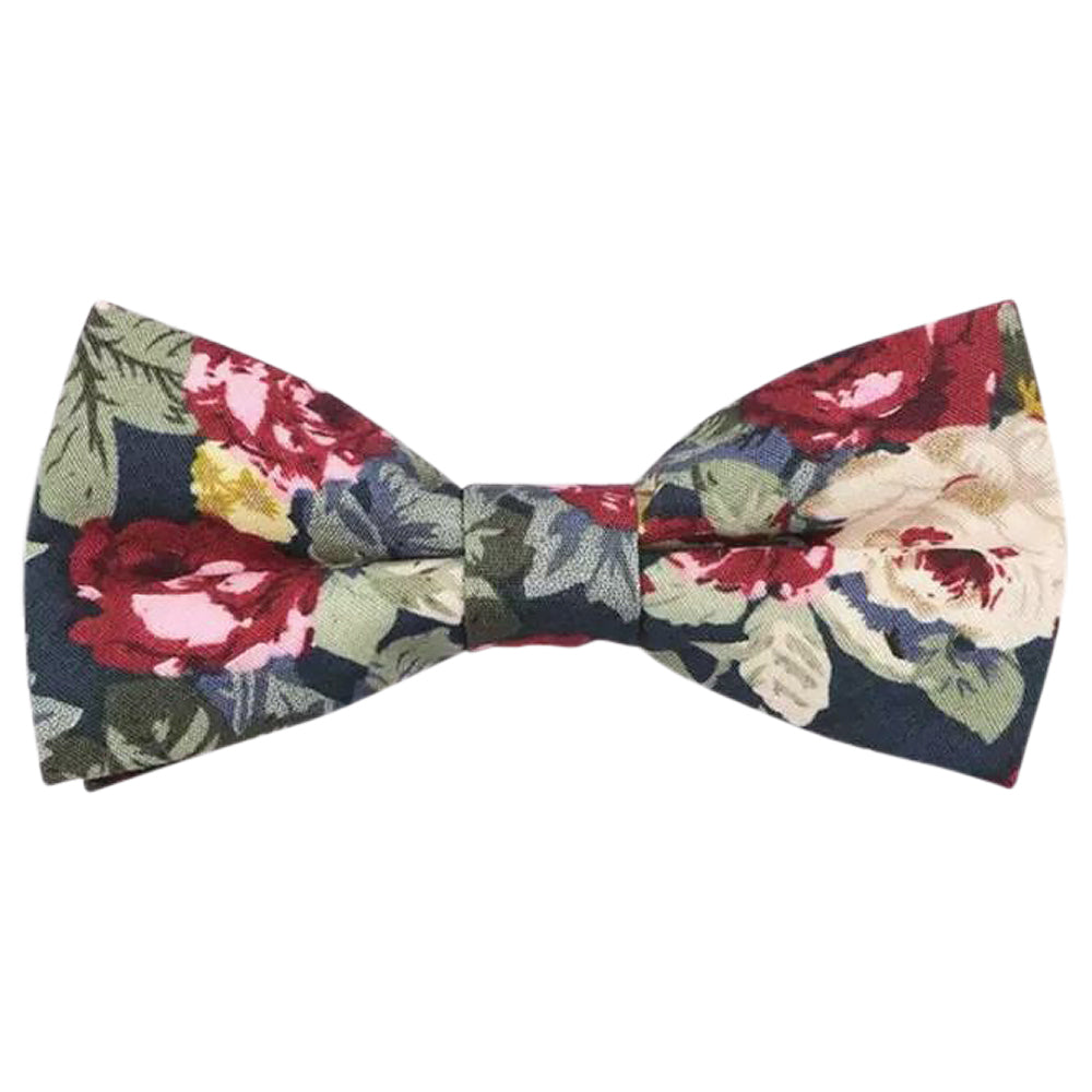 Bobby Boys Blue Floral Bow Tie | Dickie Bow