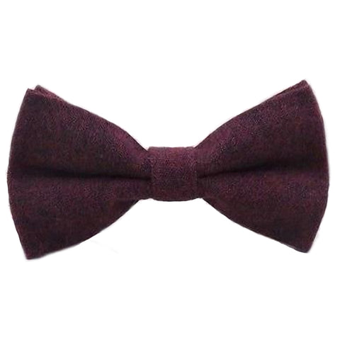 Emily Boys Burgundy Red Bow Tie | Dickie Bow