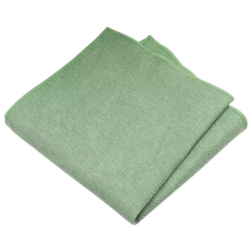Harrison Sage Green Cotton Blend Pocket Square