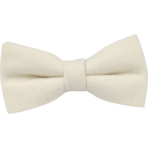 Christian White Bow Tie