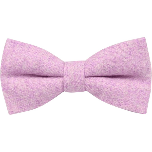 Wilbur Purple Tweed Bow Tie