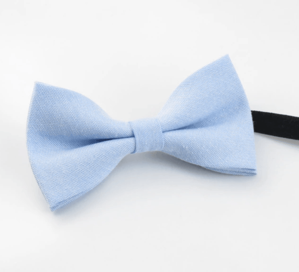 Leo Boys Blue Bow Tie and Grey Braces | Dickie Bow