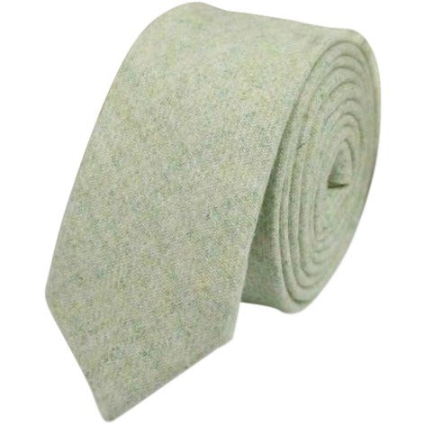 Morris Tweed Skinny Tie - Dickie Bow Tie, Neck Ties and Pocket Square
