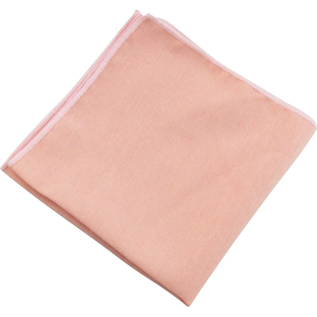 Romeo Blush Pocket Square - Dickie Bow Tie, Neck Ties and Pocket Square