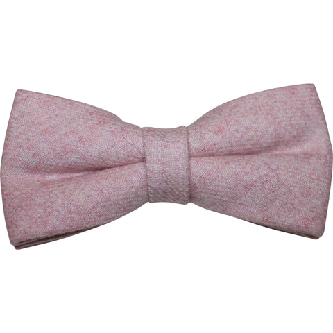 Leah Dusty Pink Bow Tie and Pocket Square | Dickie Bow
