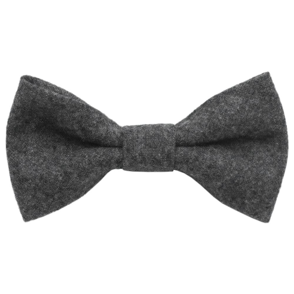 Jessica Boys Charcoal Grey Bow Tie | Dickie Bow