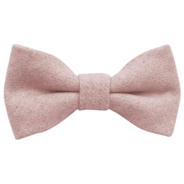 Leah Boys Dusty Pink Bow Tie | Dickie Bow